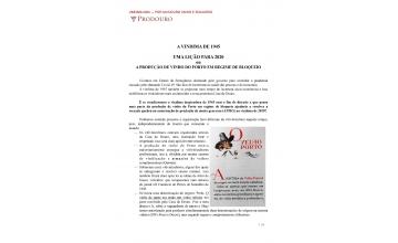 Vindima 2020 - Por um Douro Unido e Solidário