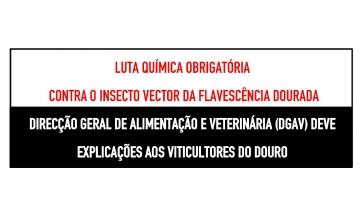 LUTA QUÍMICA OBRIGATÓRIA CONTRA O INSECTO VECTOR DA FLAVESCÊNCIA DOURADA